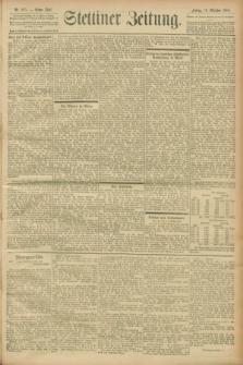 Stettiner Zeitung. 1900, Nr. 245 (19 Oktober)