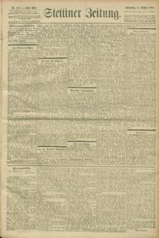Stettiner Zeitung. 1900, Nr. 250 (25 Oktober)
