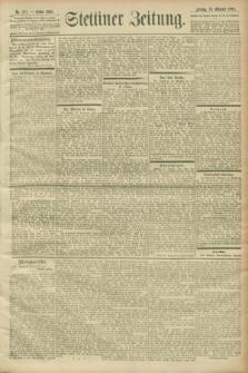 Stettiner Zeitung. 1900, Nr. 251 (26 Oktober)