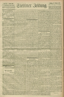 Stettiner Zeitung. 1900, Nr. 253 (28 Oktober)
