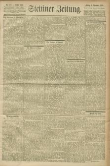 Stettiner Zeitung. 1900, Nr. 257 (2 November)