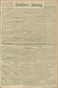 Stettiner Zeitung. 1900, Nr. 259 (4 November)