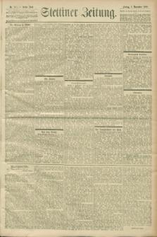 Stettiner Zeitung. 1900, Nr. 263 (9 November)