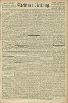 Stettiner Zeitung. 1900, Nr. 264 (10 November)