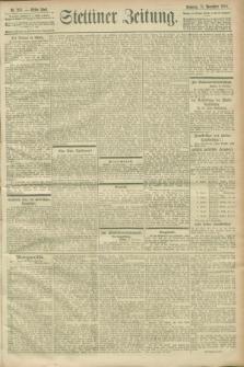 Stettiner Zeitung. 1900, Nr. 265 (11 November)