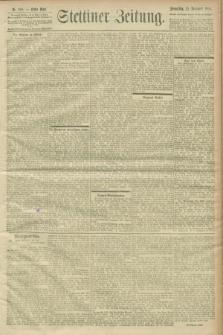 Stettiner Zeitung. 1900, Nr. 268 (15 November)