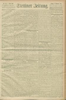 Stettiner Zeitung. 1900, Nr. 269 (16 November)