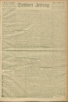 Stettiner Zeitung. 1900, Nr. 271 (18 November)