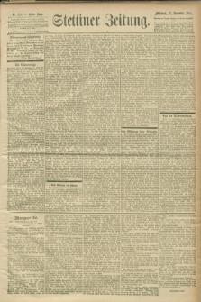 Stettiner Zeitung. 1900, Nr. 273 (21 November)