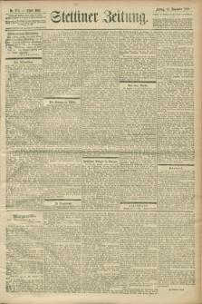Stettiner Zeitung. 1900, Nr. 274 (23 November)