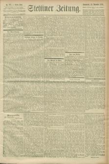 Stettiner Zeitung. 1900, Nr. 275 (24 November)