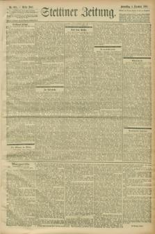 Stettiner Zeitung. 1900, Nr. 285 (6 Dezember)