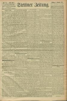 Stettiner Zeitung. 1900, Nr. 289 (11 Dezember)
