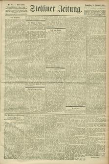 Stettiner Zeitung. 1900, Nr. 291 (13 Dezember)