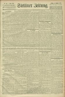 Stettiner Zeitung. 1900, Nr. 292 (4 Dezember)