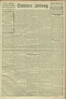 Stettiner Zeitung. 1900, Nr. 295 (18 Dezember)