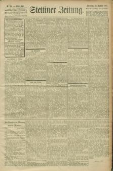 Stettiner Zeitung. 1900, Nr. 299 (22 Dezember)