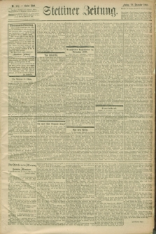 Stettiner Zeitung. 1900, Nr. 302 (28 Dezember)