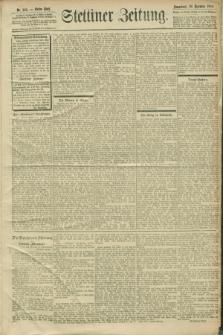 Stettiner Zeitung. 1900, Nr. 303 (29 Dezember)