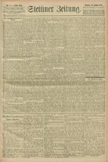 Stettiner Zeitung. 1901, Nr. 17 (20 Januar)