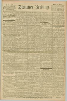 Stettiner Zeitung. 1901, Nr. 43 (20 Februar)