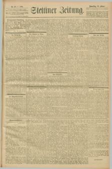 Stettiner Zeitung. 1901, Nr. 50 (28 Februar)