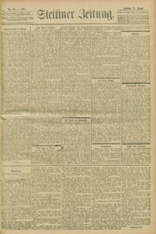 Stettiner Zeitung. 1901, Nr. 193 (18 August)