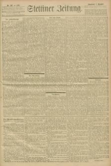 Stettiner Zeitung. 1901, Nr. 287 (7 Dezember)