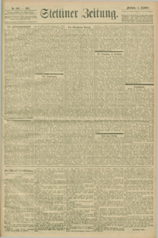 Stettiner Zeitung. 1901, Nr. 290 (11 Dezember)