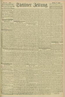 Stettiner Zeitung. 1902, Nr. 199 (26 August)
