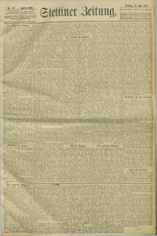 Stettiner Zeitung. 1903, Nr. 167 (19 Juli)