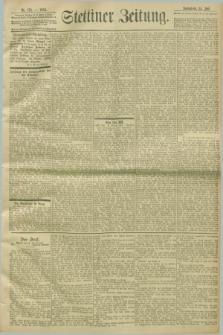 Stettiner Zeitung. 1903, Nr. 172 (25 Juli)
