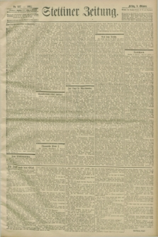 Stettiner Zeitung. 1903, Nr. 237 (9 Oktober)
