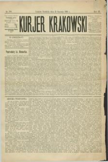 Kurjer Krakowski. R.3, nr 229 (13 stycznia 1889)