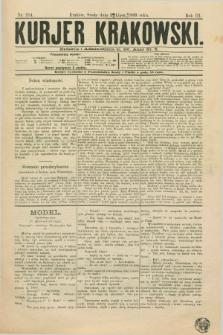 Kurjer Krakowski. R.3, nr 254 (3 lipca 1889)