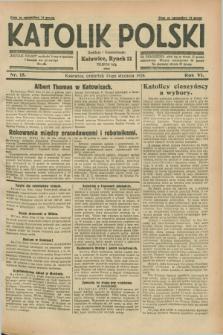 Katolik Polski. R.4, nr 15 (19 stycznia 1928) + dod.