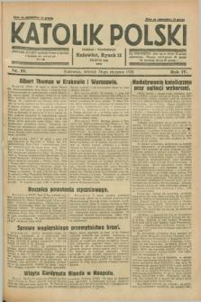 Katolik Polski. R.4, nr 19 (24 stycznia 1928) + dod.