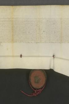Dokument króla Zygmunta III Wazy potwierdzający fundację Marcina Łyczki oraz Jana i Rafała Łyczków na rzecz Uniwersytetu Krakowskiego