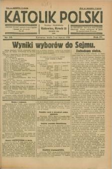 Katolik Polski. R.4, nr 55 (7 marca 1928) + dod.