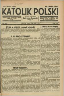 Katolik Polski. R.4, nr 107 (9 maja 1928) + dod.