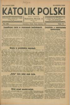 Katolik Polski. R.4, nr 140 (20 czerwca 1928) + dod.