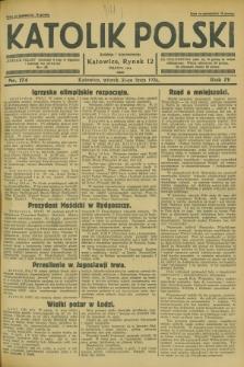 Katolik Polski. R.4, nr 174 (31 lipca 1928) + dod.