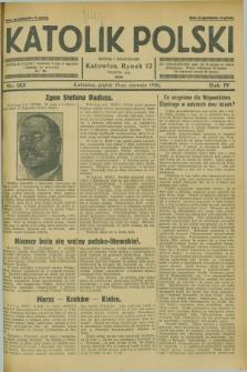 Katolik Polski. R.4, nr 183 (10 sierpnia 1928) + dod.
