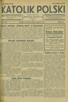 Katolik Polski. R.4, nr 216 (18 września 1928) + dod.