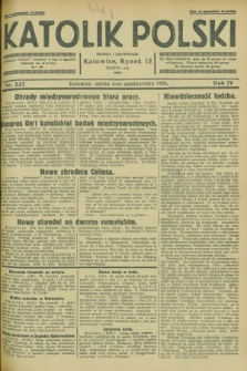 Katolik Polski. R.4, nr 232 (6 października 1928) + dod.
