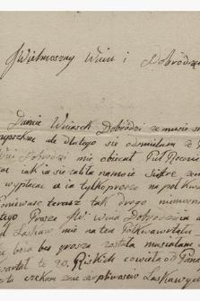 Korespondencja Józefa Benedykta Pawlikowskiego z lat 1806-1830