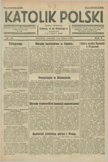 Katolik Polski. R.5, nr 31 (7 lutego 1929) + dod.