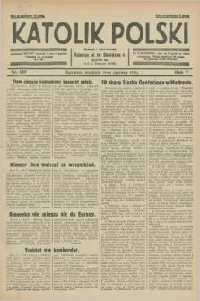 Katolik Polski. R.5, nr 137 (16 czerwca 1929) + dod.
