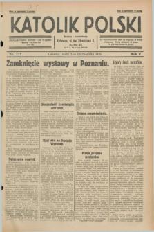 Katolik Polski. R.5, nr 227 (2 października 1929) + dod.