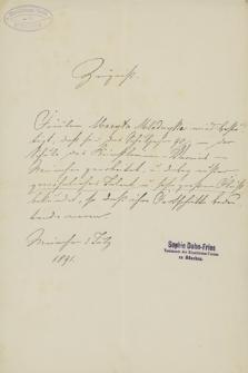 Papiery osobiste Maryli z Młodnickich Wolskiej z lat 1881–1929